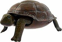 Green Jem gsgd27C Shiny Tortoise Metall Garten Dekoration–Natur