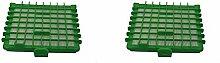Green Label 'Aufkleber, 2Stück HEPA Filter