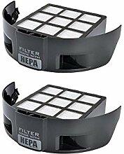 Green Label 'Aufkleber, 2Stück HEPA-Filter