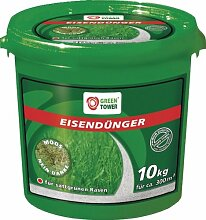 Green Tower Düngemittel Eisendünger, Grau, 10 KG