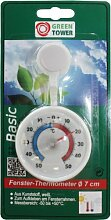 GREEN TOWER Fenster-Thermometer 140583 GT FENSTERTHERMO METER 538120 140583-585771