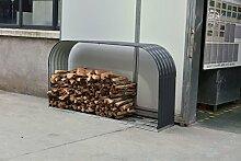 GREEN YARD Holzunterstand Blech Holzlager