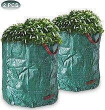 Greenbang 2 PCS 270L Große Garten Müllsack
