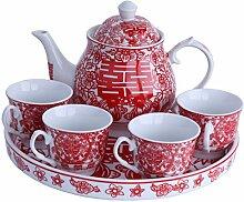 greencherry Chinesische Tranditional Hochzeit rot