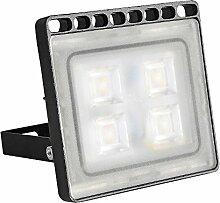 Greencolourful 20W Ultradünnes LED Flutlicht Scheinwerfer Strahler Licht Wasserdichte IP65 LED Wandlampe Fluter SMD2835 220-240V Aluminium + PC, Warmweiß