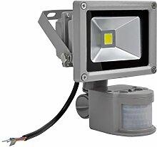 Greencolourful LED Fluter Floodlight AC 85-265V IP65 Wasserdicht PIR Sensor Bewegungsmelder Scheinwerfer Strahler 10W 20W 30W 50W 100W