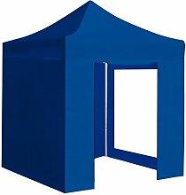 GREENCUT–Faltpavillon 148.5x22.5x26 cm blau