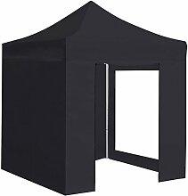 GREENCUT–Faltpavillon 148.8x22.8x29 cm Schwarz