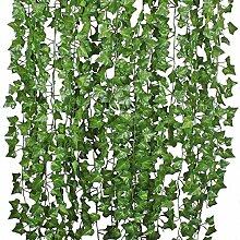 GreenEur 84ft künstliche gefälschte Girlande -