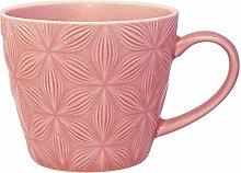 Greengate CERMUGKAL1906 Kallia Becher pink 9,5 cm