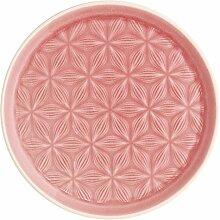 Greengate CERPLAKAL1906 Kallia Teller pink 20,5 cm