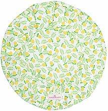 GreenGate COTBRER8LMP0108 Limona Brotkorbtuch rund