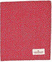 GreenGate COTTAB250DOT1002 Dot Tischdecke red 145