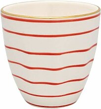 GreenGate- Cup/Becher ohne Henkel - Sally red