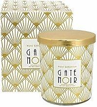 GreenGate Gate Noir - Duftkerze Kerze - Rose