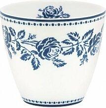 Greengate Latte Cup Fleur blue