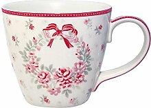 GreenGate -Mug/Becher- Flora white