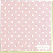 GreenGate PAPNAPSSPO1912 Spot Servietten Pale pink