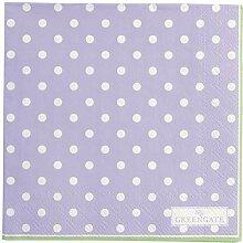 GreenGate PAPNAPSSPO7212 Spot Servietten Lavender