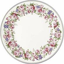 GreenGate Plate Rose White