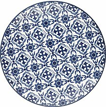 GreenGate- Plate - Teller - Hope Blue - D 20,3cm