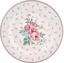 GreenGate- Plate - Teller - Marley White - D 20,5cm