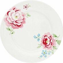 GreenGate- Plate - Teller - Meryl white - D 20,5cm