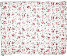 GreenGate QUIBED180MER0102 Meryl Tagesdecke Weiss