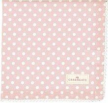 GreenGate - Serviette - Stoffserviette - rosa -