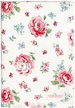 GreenGate Tablecloth Meryl mega White 150x150cm