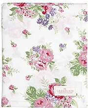 GreenGate Tablecloth Rose White 145x250cm