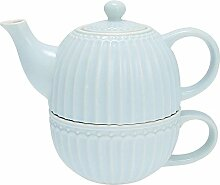 GreenGate- Tea for one- Alice pale blue- Teekanne/