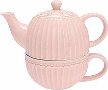 GreenGate- Tea for one- Alice pale pink- Teekanne/
