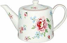 GreenGate- Teapot/Teekanne- Meryl mega White