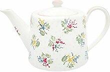 GreenGate - Teapot/Teekanne - Mira White
