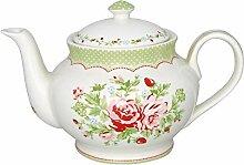 GreenGate- Teekanne/Teapot - Mary White Round