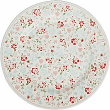 GreenGate Teller Merla Weiß 20 cm Porzellan