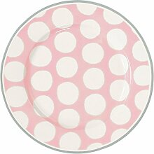 GreenGate Teller - Plate - Aura Peach 20,5 cm