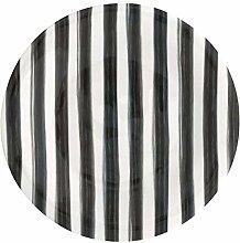 GreenGate Teller Plate Sally Dark Grey 20,5 cm