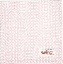 GreenGate Tischdecke Helle Pale pink 100 x 100