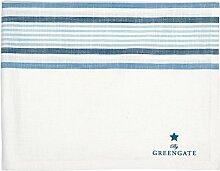 GreenGate Tischdecke - Tablecloth - No 1 Indigo 145 x 250 cm