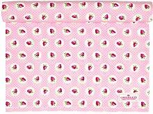 GreenGate - Tischläufer, Tischdecke - Erdbeeren -