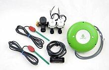 GreenIQ Smart Balkon Bewässerung-Kit inkl. 2 Ventile, Flow-Sensor und 2 Bodenfeuchte-Sensoren