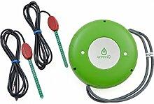 GreenIQ Smart Garden Hub Bewässerungs-Set + 2 x Vegetronix VH400 2m Bodenfeuchtigkeitssensor für z.B. Balkon