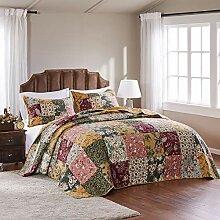 Greenland Home Bettwäsche-Set, Patchwork-Design,
