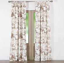 Greenland Home Vorhang Panel Paar, Taupe