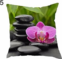 Greenlans 'Dekorative Kissenhülle Orchideen