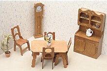Greenleaf Holz Puppenhaus Möbel Kit Esszimmer