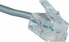 Greenlee 9520RJ12Modularstecker Wir/SS 6P6C für flache oder gestrandet ER Draht, 10
