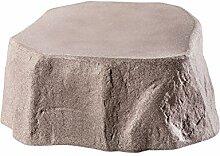 GreenLife Unterstand Regenspeicher, granitrot, 77 x 77 x 30 cm, G0001617